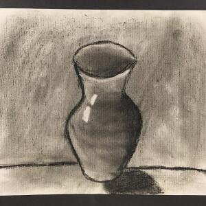 Still Life (Charcoal) - Miguel