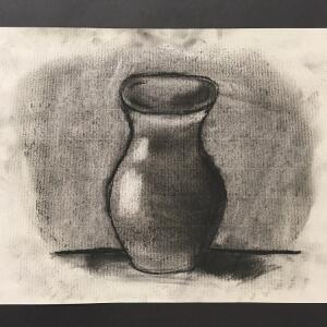 Still Life (Charcoal) - Lazhon