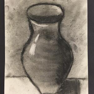 Still Life (Charcoal) - Mishulay