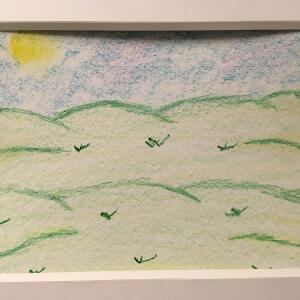 Landscape (Crayon) - Jaslene