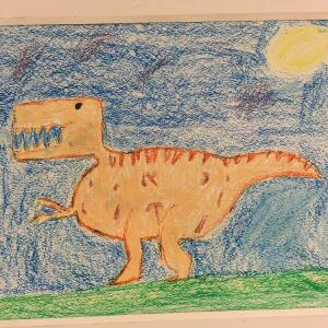 Jurassic Park (Crayon) - Nikolas