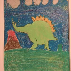 Jurassic Park (Crayon) - Donnaven