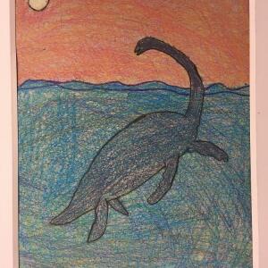 Jurassic Park (Crayon) - Jade