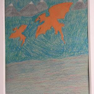 Jurassic Park (Crayon) - Valencia