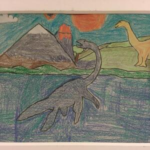 Jurassic Park (Crayon) - Bryan