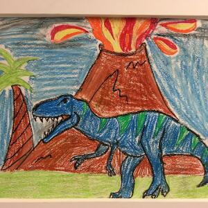Jurassic Park (Crayon) - Maverick