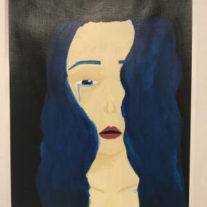Expressive Portrait (Acrylic) - M'Lani