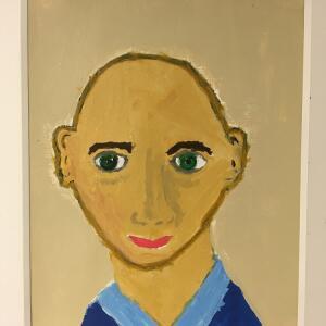 Expressive Portrait (Acrylic) - Alijah