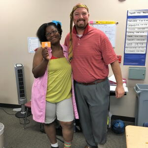Wacky Wednesday - 3rd Place, Mrs. Ivy