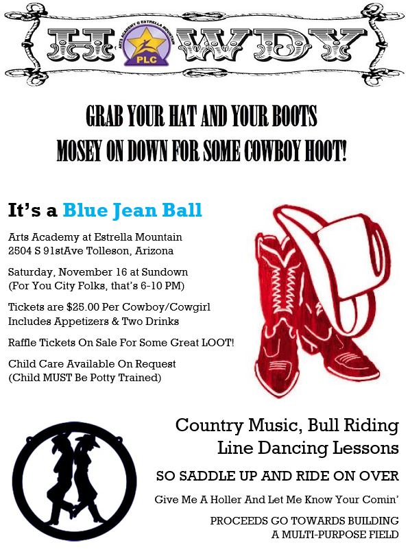 Blue Jean Ball Information