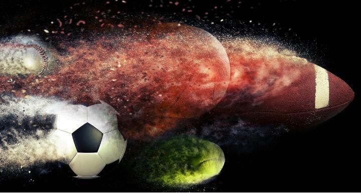 Baseball, Soccer Ball, Basketball, Tennis Ball, Football