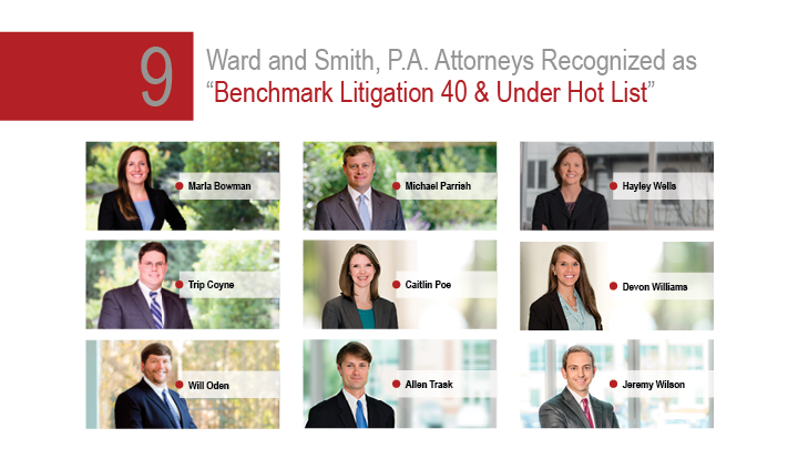 Benchmark Litigation 40 & Under Hot List