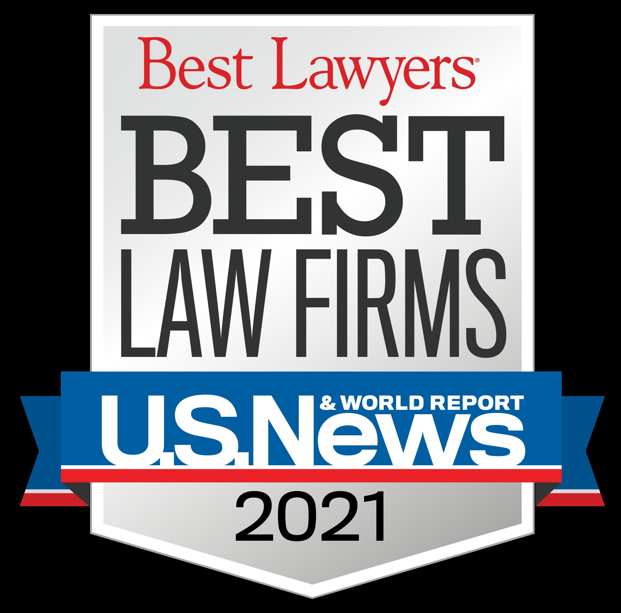 U.S. News Best Lawyers 2021