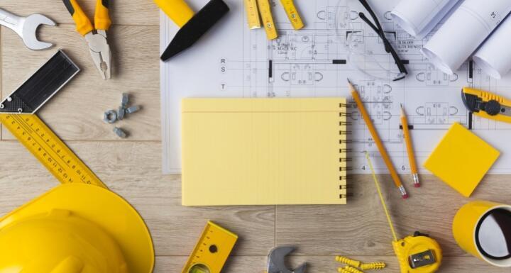 Blueprints and Construction tools
