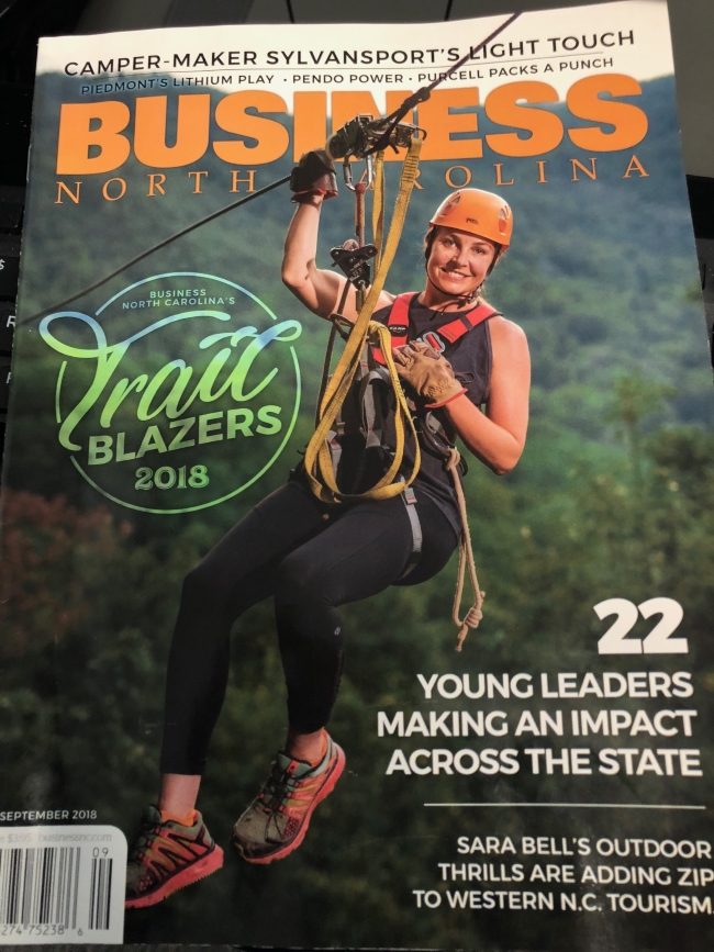 Business North Carolina Cover