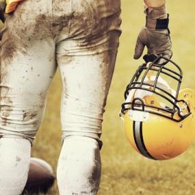 dirty football player