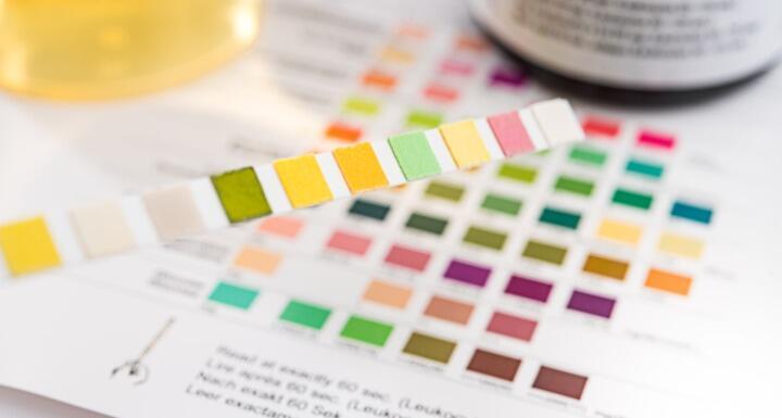 Litmus paper drug test