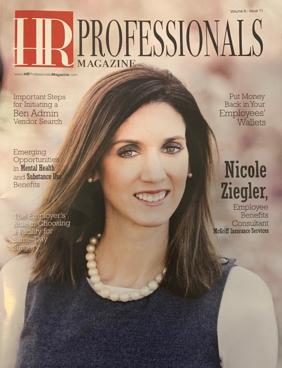 HR Professionals Magazine Cover