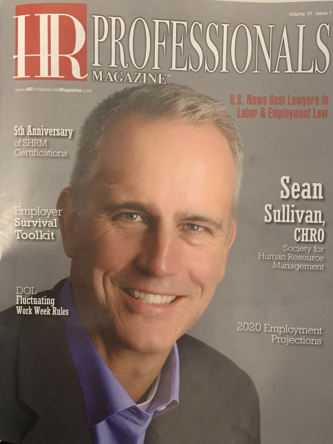 HR Professional Magazine Cover