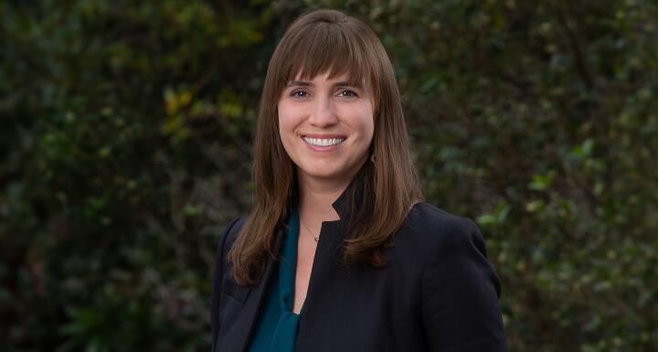 Attorney Jenny Boyer of the Asheville office