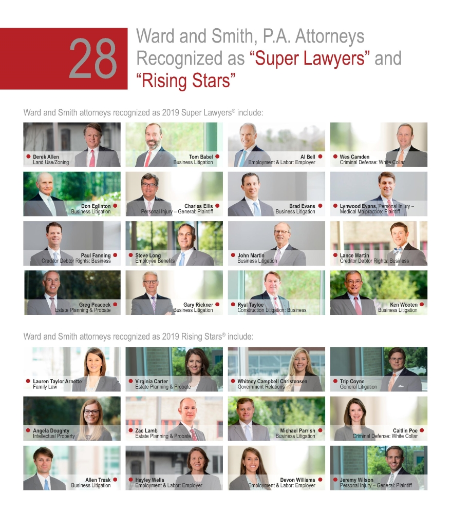 Super Lawyers and Rising Stars