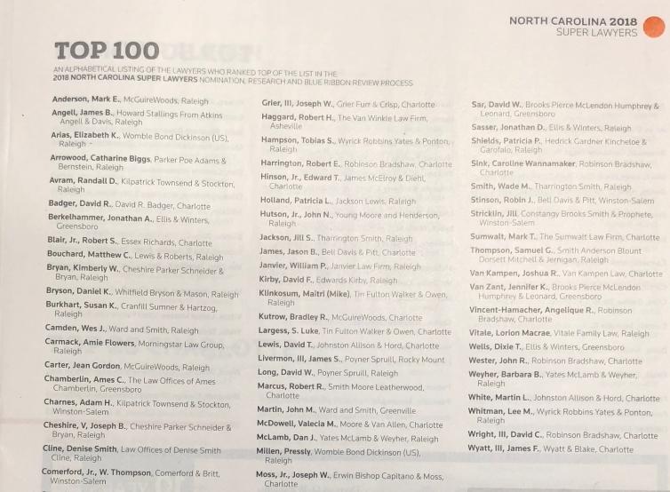 Super Lawyer 100