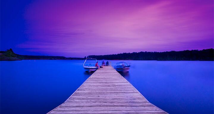 North Carolina Pier at sunset