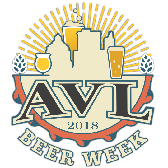 2018 AVL Beer Week Logo