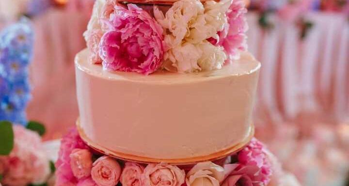 3-Tiered Wedding Cake