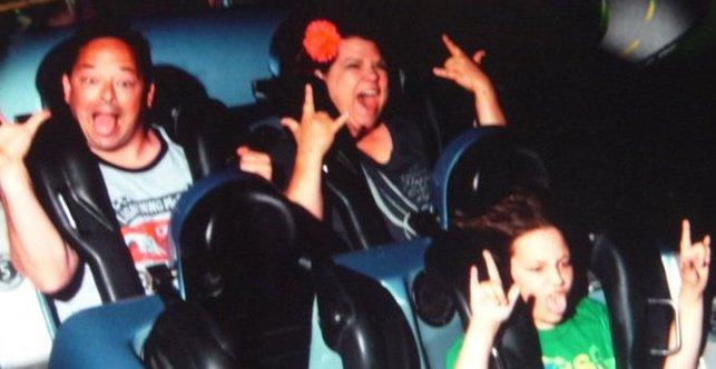 Disney roller coaster