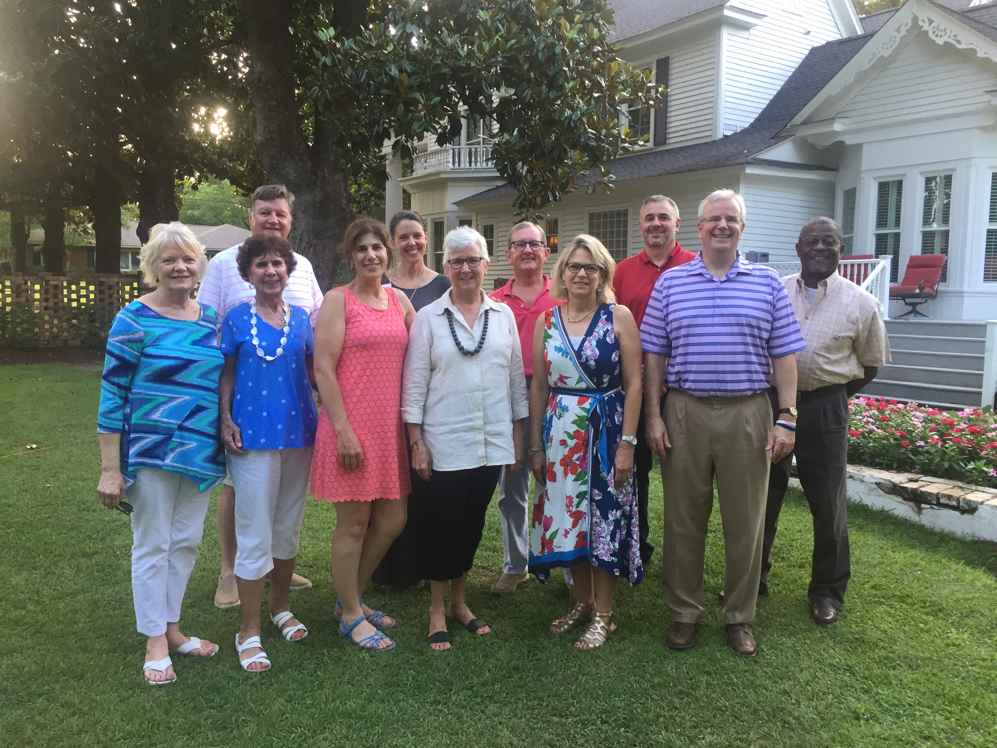(Back row, left to right) Jeff McNeil (HCCF board president), Dawn Neighbors (NCCF regional director), Ron Huff (HCCF vice president and grants chair), David Edmundson and Marshall Lyons. (Front row, left to right) Jean Harrison (secretary), Grace McDonald, Leah LEach, Wanda McPhaul, Jodi Willis and John Jordan. Not pictured: Wanda Cohen, Candace Hayworth, Shari Dahman, Joe Poole and Regina Joe.