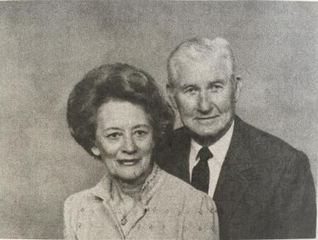Ernestine and C.S. Williams as photographed for church directory.
