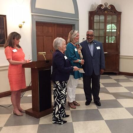 Pictured are BHCF board members (left to right) Laura Beasley, Karen Ray, Ron Wesson and Penny Rose.