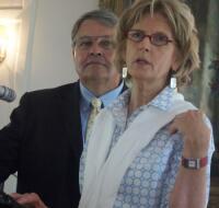 Hugh Bingham, MCCF president; and Mary Anne Howard, NCCF regional associate.