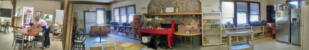 A panoramic view of The Community Table, a grantee of the Jackson County Community Foundation.