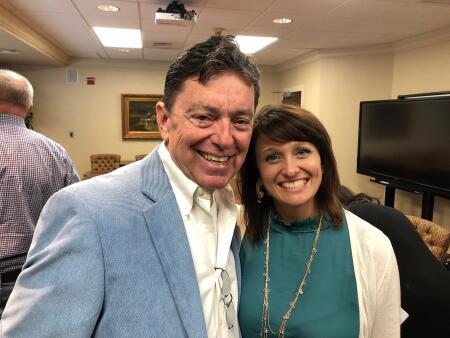 NHCCF Board Member Ronald Copley and Board President Kristi Sullivan.