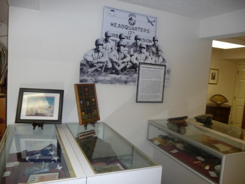 The Vass Area Library and Veteran's Memorial also serves as a museum for artifacts from recent wars, shared by local veterans who live in Moore County.