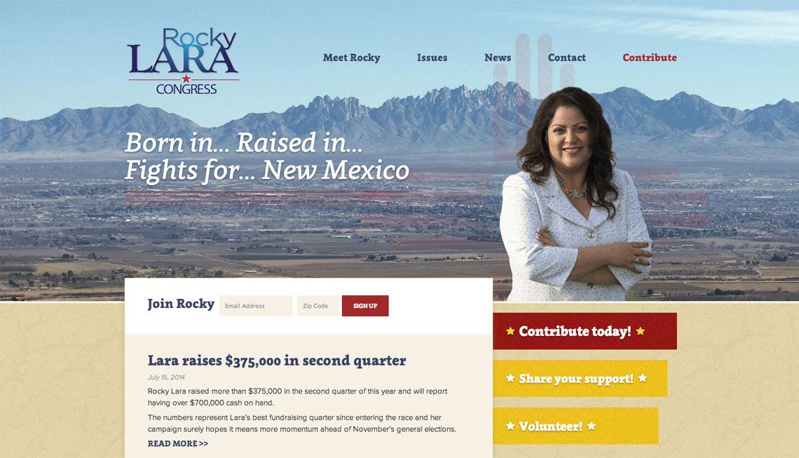 Rocky Lara for Congress