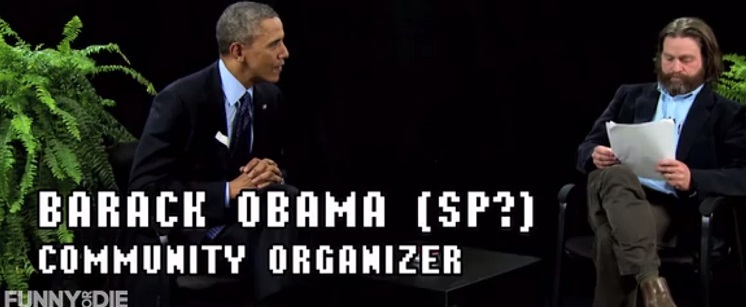 President Obama Between Two Ferns Appearance