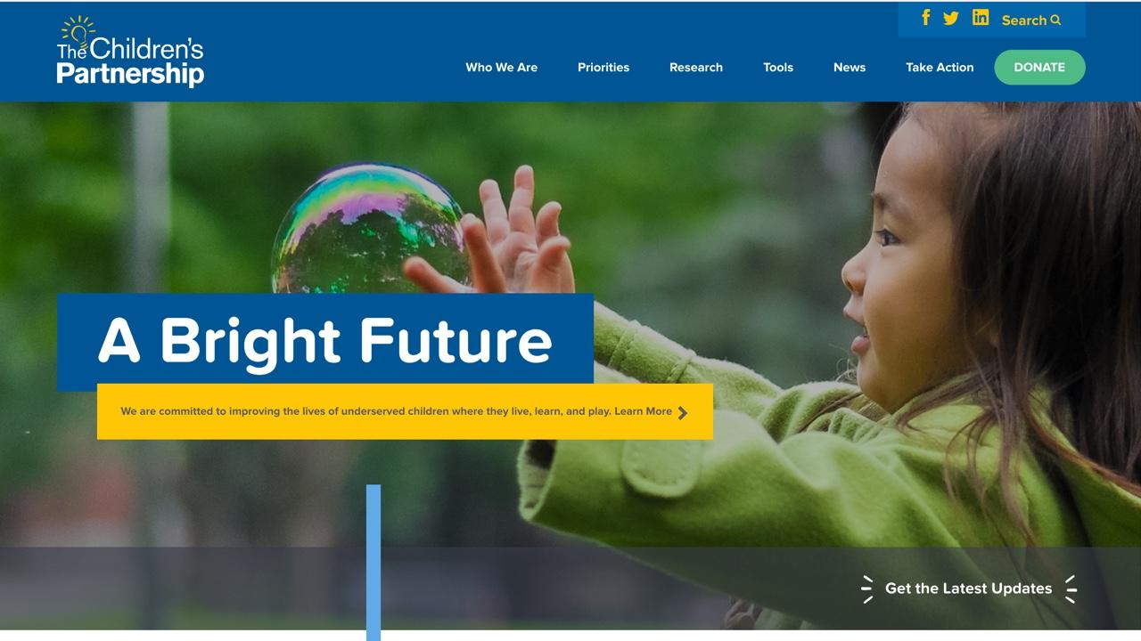 NMC Spotlight 2016 The Children's Partnership