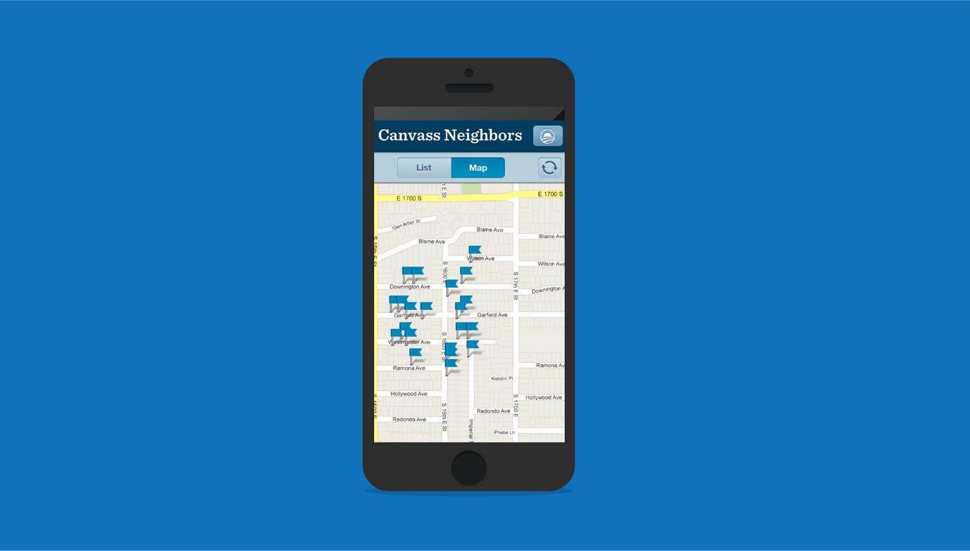 Obama Canvass Mobile App
