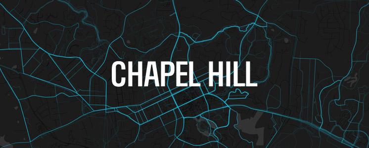 Chapel Hill running map