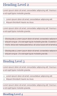 Typographic Baseline Grid