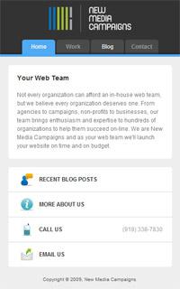 Webkit Mobile Site