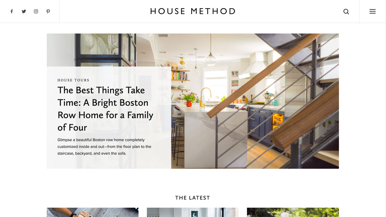 House Method Homepage