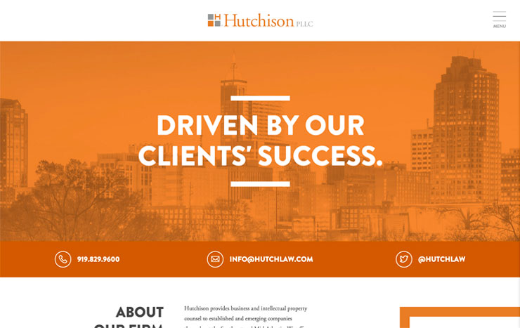 Hutchison Law Website
