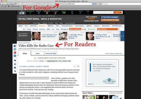 Keyword Targeting - Page Title Optimization