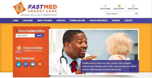 FastMed Homepage