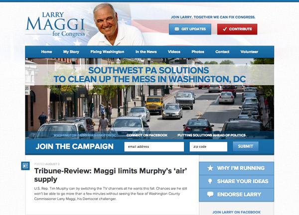 Larry Maggi for Congress