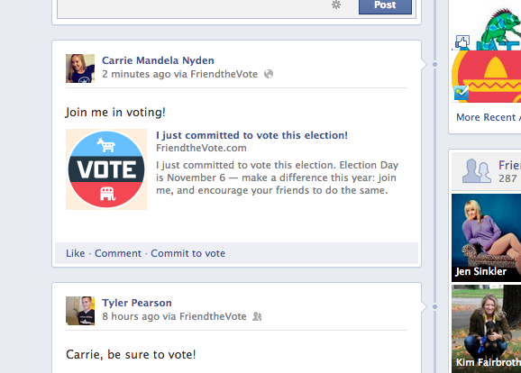 Friend the Vote